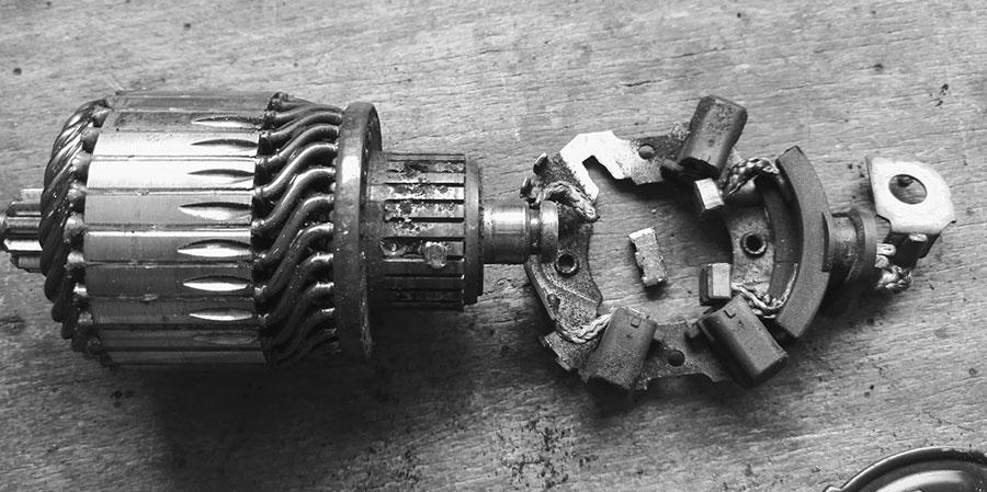 Prächtig AUTOSCHRAUBER.DE   Anlasser reparieren Reparatur #MZ_45