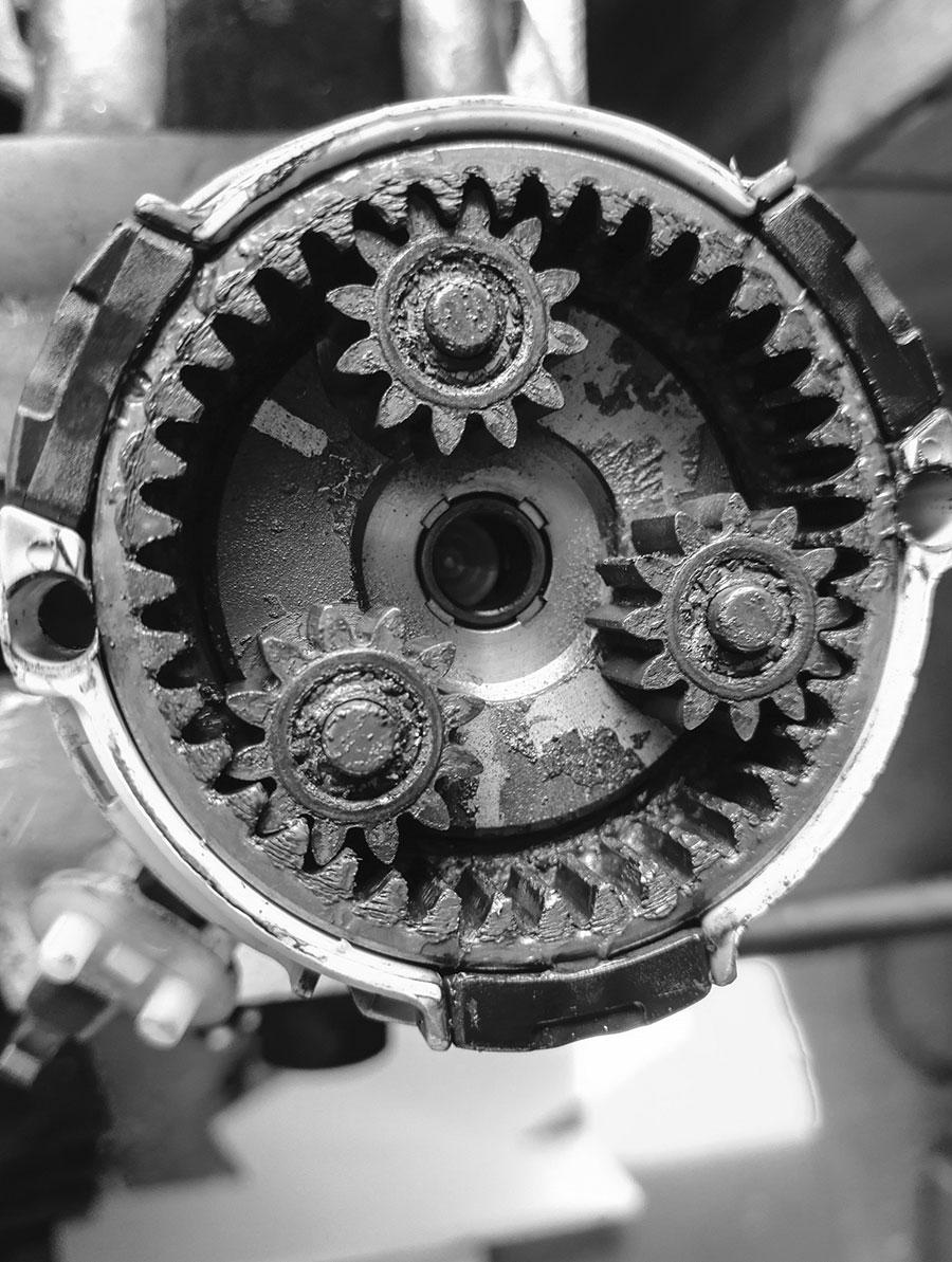 Prächtig AUTOSCHRAUBER.DE   Anlasser reparieren Reparatur #HT_28