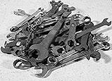 Schlechte Schraubenschlüssel
