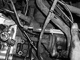 Öl in die Turboleitung einfüllen