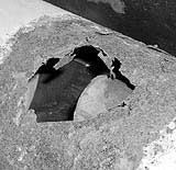 Loch im Endtopf