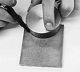 Radius mit Schablone anzeichnen