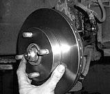 Bremsscheibe Mazda einbauen
