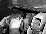 Bremssattel weglegen