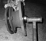 Bremsscheibe von Radnabe trennen