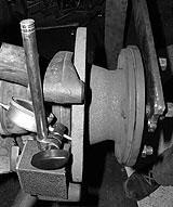 Magnetstativ für Radlager-Einstellung