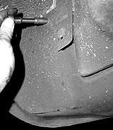 Blechschraubeen Motorschutz