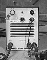 Schweisstrafo mit Transduktor