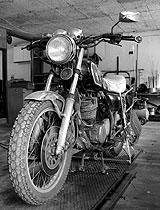 Motorrad richtig hinstellen