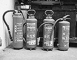 Feuerlöscher zum Schweissen