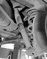 Stossdämpfer Opel Kadett