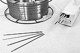 Vergleich der Schweiss-Elektroden