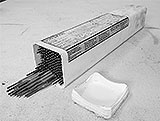 Plaste-Schachtel für Schweisselektroden