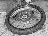 Montagepaste Reifen