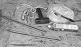 Werkzeug für Reifenwechsel