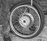Reifen abbauen