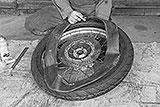 Schlauch im Reifen montieren