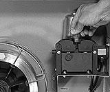 Andruck für Schutzgas-Draht einstellen