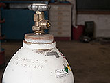 Sauerstoffflasche Flaschenventil