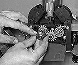 Drahtdurchmesser Vorschubrolle Vorschubeinrichtung