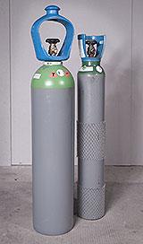 Schutzgasflaschen mit 10 und 20 Litern