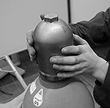 Gasflasche Schutzkappe