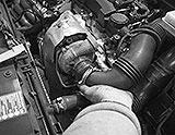 Ansaugschlauch am Turbolader