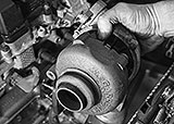 Turbolader PSA ausbauen