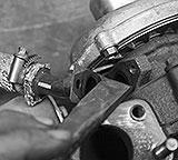 Rücklaufschlauch Turbo trennen