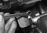 Kupfermuttern Turbolader