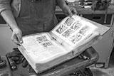 Werkstatthandbuch unter Folie