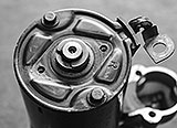 Lagerplatte Bosch-Anlasser